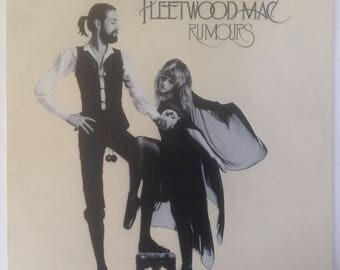 Fleetwood Mac RUMOURS 1977 Cover Original Vinyl Record LP /RARE