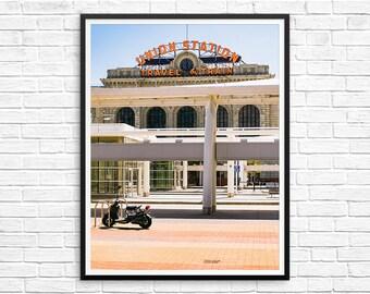 Union Station Denver // Colorado // Urban Print