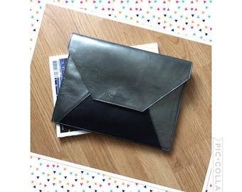 IPad Pro, leather pocket for Mac book Air or Ipad Pro, new Ipad