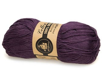 09 Lavender Mayflower Organic Cotton 8/4 50g
