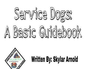 Service Dogs: A Basic Guidebook (E-Book)