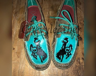 Custom Tooled Twisted X Mocs