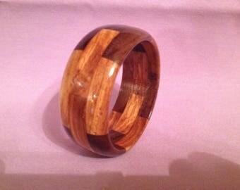 """Segmented bracelet #44: size small (inside diameter 2 3/8"""")"""