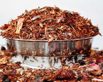Fruits and Flowers Rooibos -  Rooibos Loose Leaf - Tea - Rooibos - Caffeine Free Tea - Redbush Tea - Loose Leaf Tea - Tea - Tea Gift