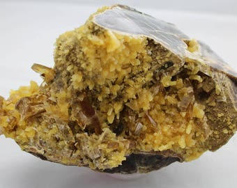 Calcite and Barite Crystal Mineral Specimen CAL46