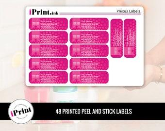 Plexus Labels, Plexus Printed Labels, Plexus Address Labels, Plexus Brochure Labels - PLX-RAL012