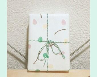 Printable Easter Giftwrap WHITE - Easter egg gift wrap, Easter pattern digital paper, A4 gift-wrap, seasonal gift-wrap hand-drawn gift wrap