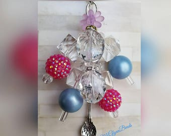 Mary Poppins Spoonful of Sugar Purse Charm