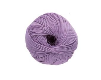 Cotton knit or crochet No. 30 Wisteria Natura