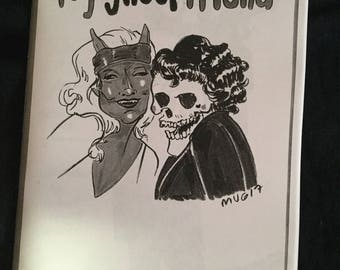 Hey Ghoul Friend, halloween zine