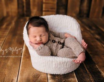 Newborn Romper, Long Sleeved