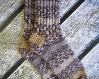 knit mens socks gift for men warm socks husband gift knit Casual Socks for him house socks wool men socks mens gift winter holidays gift dad
