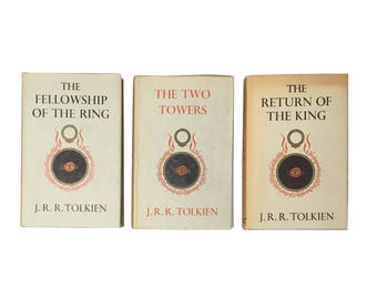 The Lord of the Rings: The Fellowship of the Ring, The Two Towers, and The Return of the King by J.R.R. Tolkien  (1957-1961)