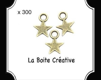 300 WITH A BRONZE METAL STAR CHARMS