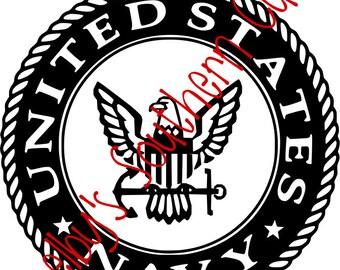 Navy Logo - Simple - SVG