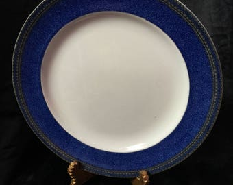 A rather smart plate of cilicon china by booths