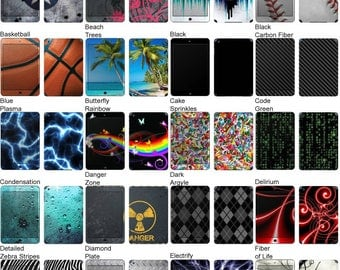 Choose Any 1 Vinyl Decal/Sticker/Skin Design for the Apple iPad Mini 3 - iOS Tablet