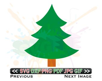 Christmas Tree SVG Files for Cricut DXF Xmas Designs - Christmas Tree SVG Files for Cricut - Christmas Tree svg Files for Silhouette