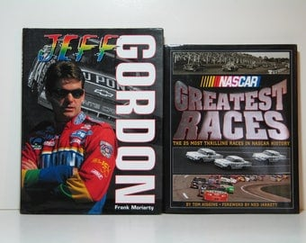 Jeff Gordon and NASCAR Greatest Races Hardcover Books