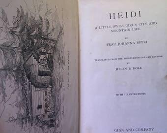 1899 Heidi by Frau Spyri