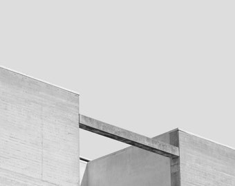 Architecture photo print | printable wall art | brutalist photography | minimalist photography | modern urban art print | Scandinavian art