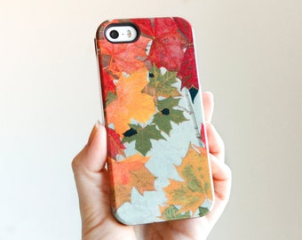 Fall Leaves iPhone 6 Case, Fall iPhone 5S Case, Rustic iPhone 6 Plus Case, Autumn  Case, Galaxy s6 Case Fall Fashion