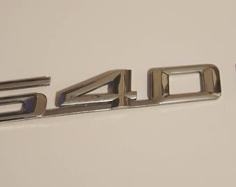 BMW 540i Emblem Car for Crafting