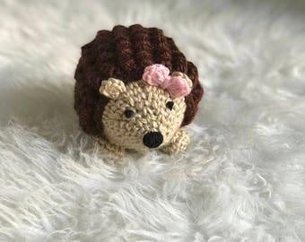 Crochet Hedgehog   Hedgehog   Crochet Animals   Amigurumi   Hedgehog Gift   Stuffed Animal   Crochet Toy   Kids Gift   Baby Shower