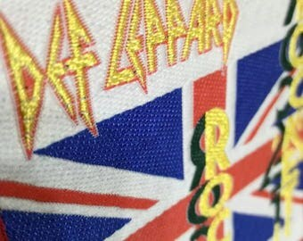 Def leppard , rocket !! From Hysteria album 87 . Vintage patch 80s .
