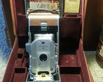 1954 Polaroid Land Model 95A with Original Case