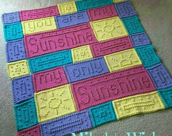 You Are My Sunshine Blanket- - - pre order for March 2018 Delivery