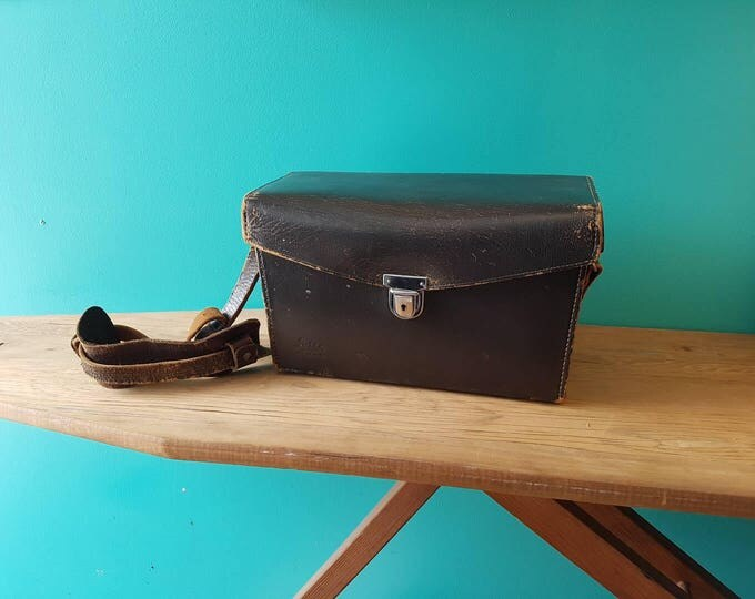 Leitz Wetzlar Leather Camera Bag -Leica-