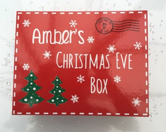 Christmas tree box  Etsy