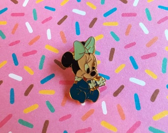 "Enamel Pin 90's Retro Vintage ""Baby Disney/Minnie"""