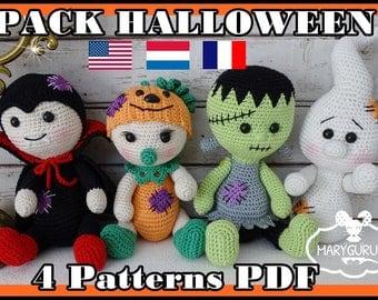 Crochet Pattern, pattern, tutorial, Amigurumi, Halloween