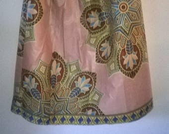 long skirt made in African cotton
