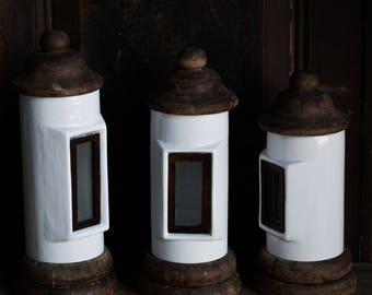 3 x Ceramic  jar