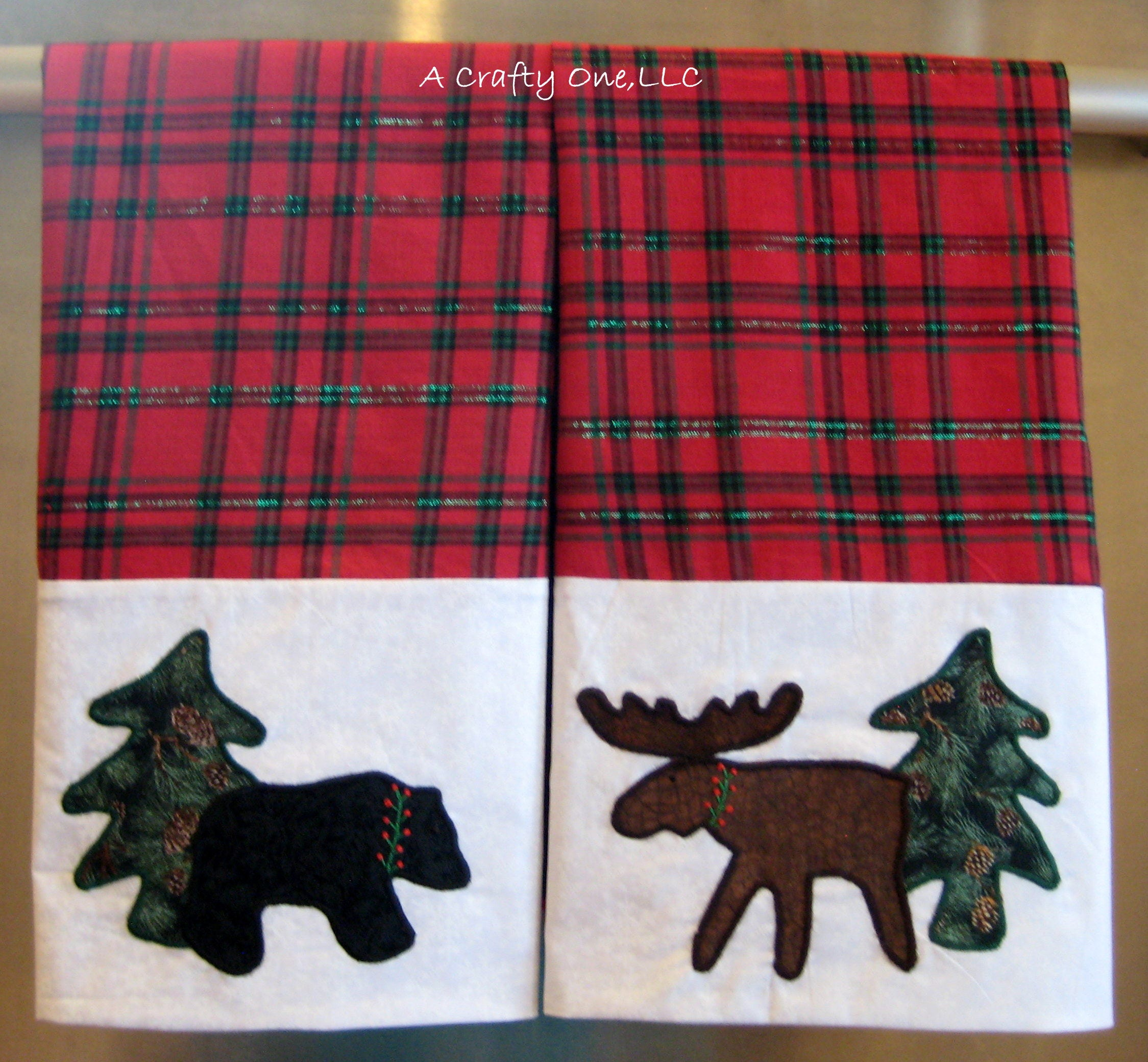 Kitchen Towel Bear Kitchen Towel Moose Bear Tea Towel
