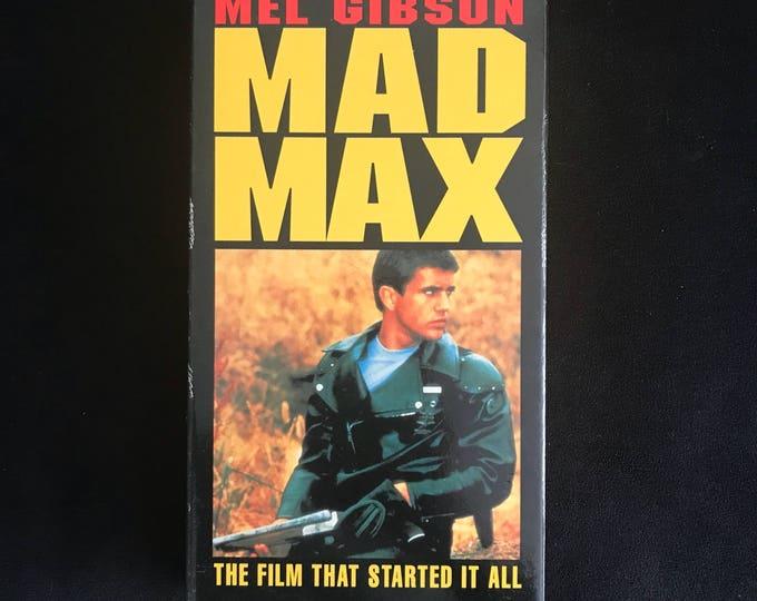 MAD MAX 1979 Vintage Movie VHS