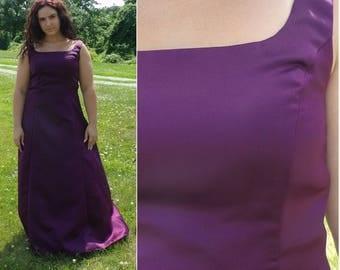 90s Scott McClintock Purple Gown Size 12, Prom Dress, Fancy Dress, Formal Purple Dress, Scott McClintock, Fancy, Full Length,  Evening Gown