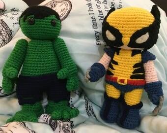 Plush Toy: Marvel Hero