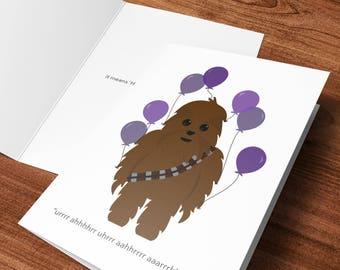 Birthday - Chewie