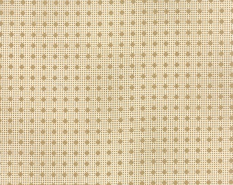 Moda LEXINGTON Quilt Fabric 1/2 Yard By Minick and Simpson - Cream 14788 22