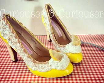 Lemon Meringue Pie Heels