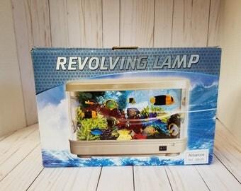 Revolving Lamp Aquarium