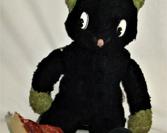 Early 1950s Rare Vintage Gund Cat
