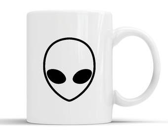 New Designer Alien Head Mug
