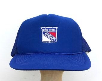 Vintage 80's New York Rangers Trucker Hat