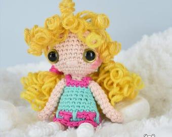 Neko mimi, nekomimi, neko girl, amigurumi, doll, amigurumi doll, crochet doll, neko, crochet girl doll, ooak doll, kawaii, chibi