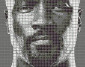 Luke Cage - Cross Stitch Pattern